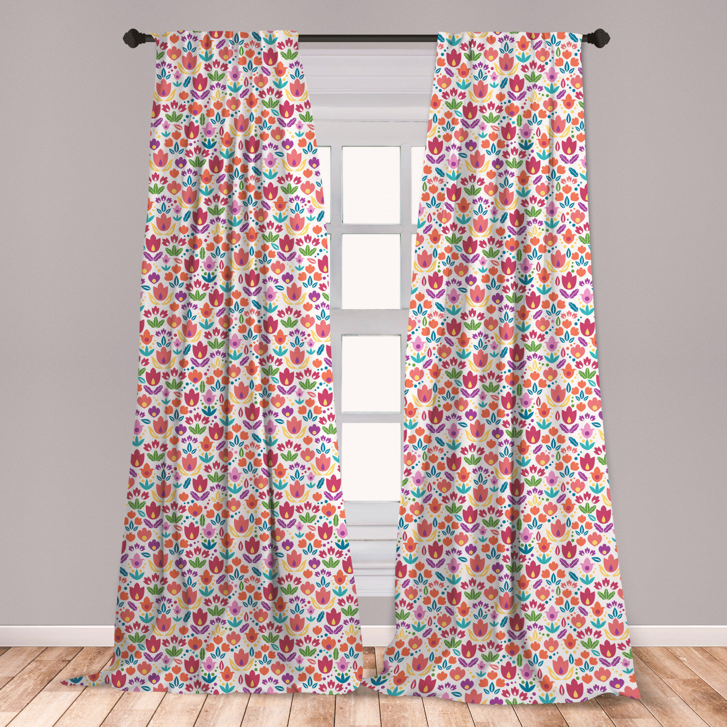 East Urban Home Dutch Room Darkening Rod Pocket Curtain Panels Wayfair