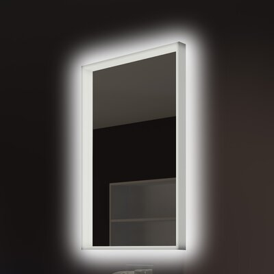 Acrylic Illuminated Bathroom/Vanity Wall Mirror