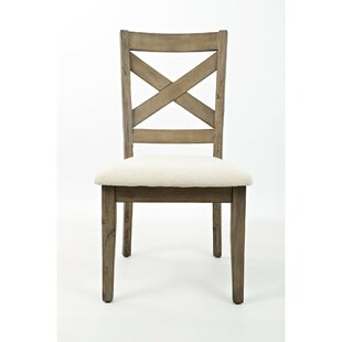 Virgina Solid Wood Dining Chair (Set of 2) Gracie Oaks