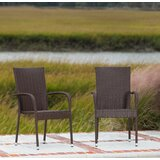 Morgan Stacking Patio Dining Chair (Set of 4) by PatioSense