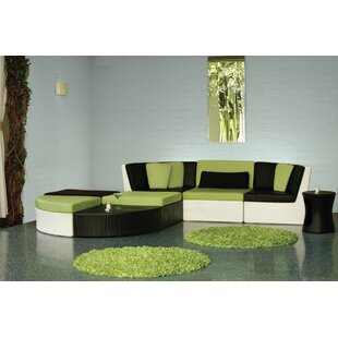 Mobilis Sectional with Cushions by Tropitone
