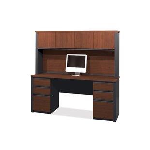 Kenworthy Credenza Desk with Hutch