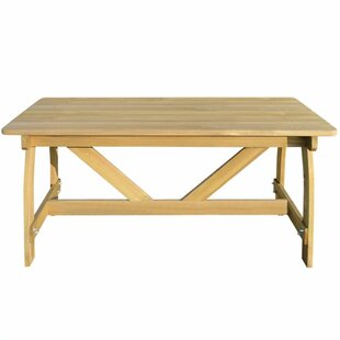 Cano Wooden Dining Table By Sol 72 Outdoor