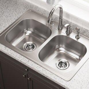 Drop In Stainless Steel Sink | Wayfair