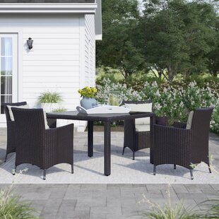 Brentwood 5 Piece Dining Set by Sol 72 Outdoor