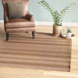 Annica Large Stripe Beige Indoor Outdoor Area Rug