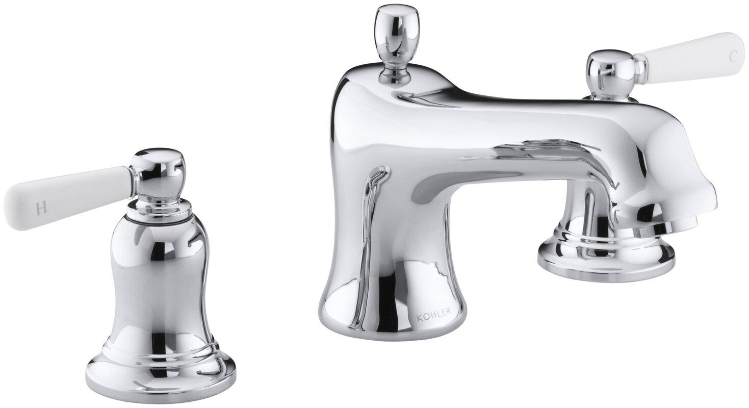 K-T10592-4P-BN,BV,CP Kohler Bancroft® Widespread Bathroom Faucet ...