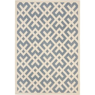 Jefferson Place Blue Indoor/Outdoor Area Rug