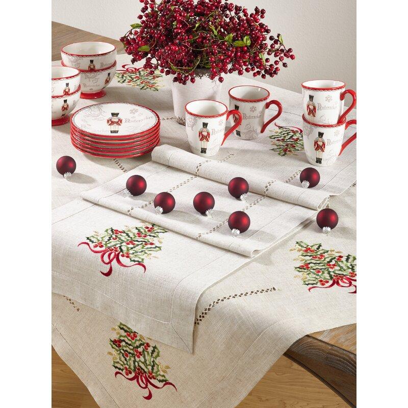 table runner table linens