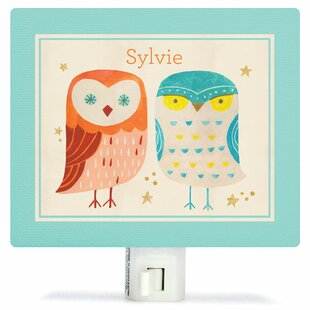Oopsy Daisy Two Wise Owls Night Light