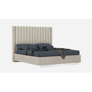 Gann Upholstered Platform Bed by Orren Ellis Reviews