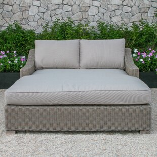 Naperville Patio  Daybed with Cushion by Darby Home Co