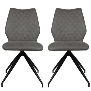 Hovey Upholstered Dining Chair (Set Of 2) By Ebern Designs