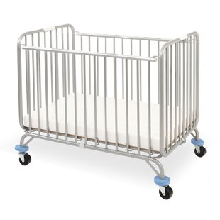 Budget Deluxe Holiday Folding Portable Crib with Mattress ByL.A. Baby