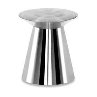 Circle Stainless Steel Side Table