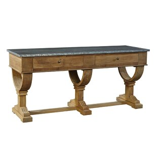 Zinc Top Console Table by Furniture Classics