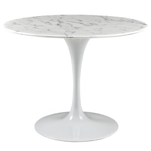 Modern Contemporary 42 Round Pedestal Dining Table Allmodern