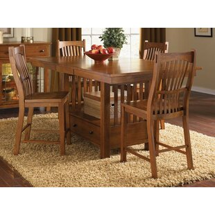 Corwin 5 Piece Pub Table Set b..