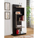 Bakri 65 H x 31 W Metal Geometric Bookcase by Latitude Run®