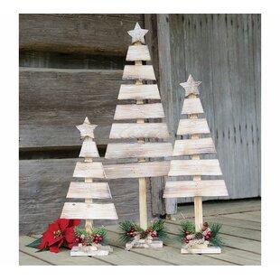 3 piece christmas tree dcor set