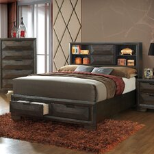 Bender Contemporary Panel Bed by Union Rustic