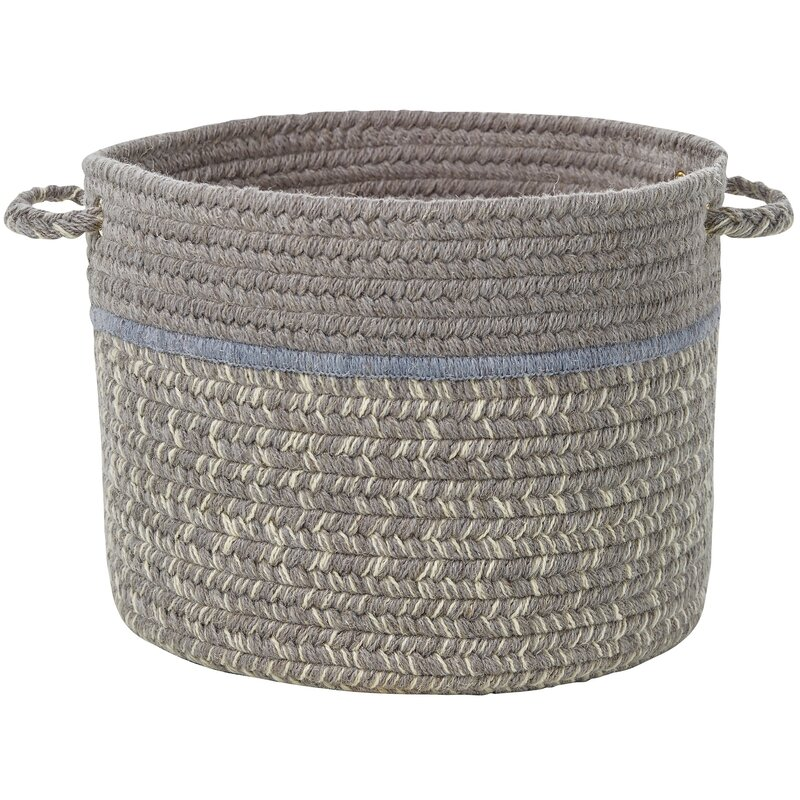 Highland Dunes Banded Fabric Basket Reviews Wayfair