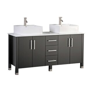 Larock Modern 71 Double Bathroom Vanity Set by Latitude Run