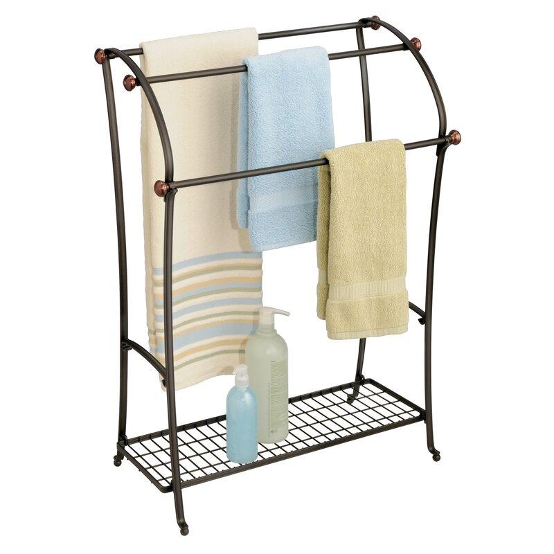 floor towel stand. Eisenman Floor Towel Stand