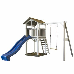 Sunny Beach Tower Single Swing Set By Freeport Park