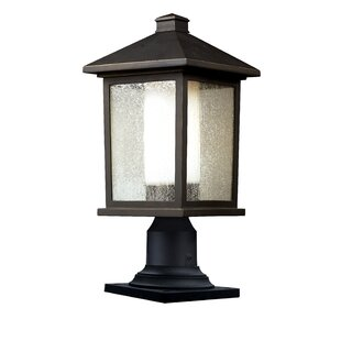 Savala Outdoor 1-Light Pier Mount Light by Winston Porter