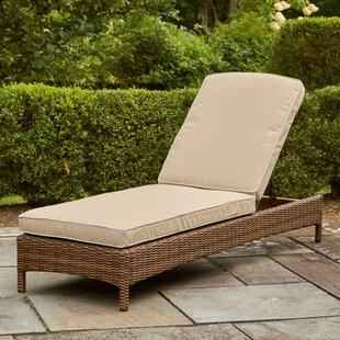 Dardel Reclining Chaise Lounge with Cushions