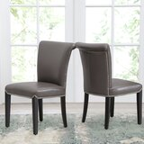 Suzanne  Upholstered Dining Chair (Set of 2) by Darby Home Co