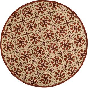 St James Red Indoor/Outdoor Area Rug