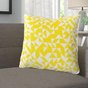 Icon Way 100% Cotton Throw Pillow