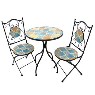 Glasco 3 Piece Bistro Set