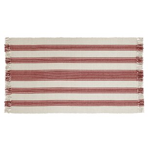 Find Boucher Hand-Woven Cotton Red Area Rug By Laurel Foundry Modern Farmhouse