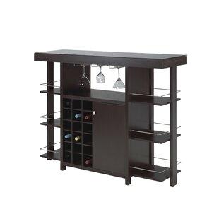 Orren Ellis Anteus Bar with Wine Storage