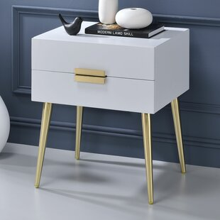 Everly Quinn Pierre End Table