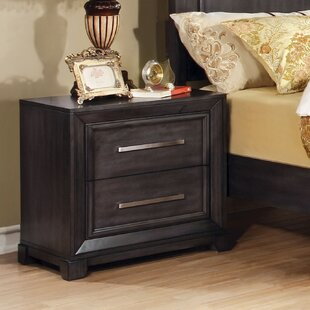 Bivins 2 Drawer Nightstand