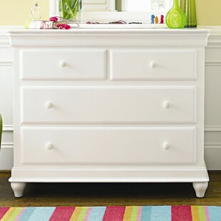 Jacque Modern 4 Drawer Single Dresser