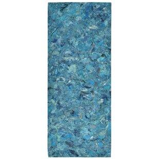 Best Chacko Blue Indoor/Outdoor Area Rug Best Deals