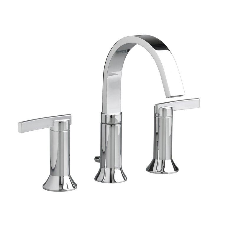 american standard 2 handle high arc widespread bathroom faucet