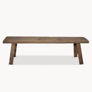 Elsner Wood Bench By Bloomsbury Market