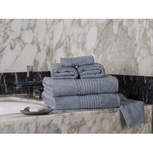 Parkhill Microcotton 6 Piece 100% Cotton Towel Set