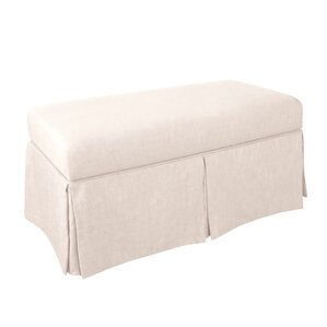 Fabric/Cotton Storage Bench by Wayfair Custom Upholstery?