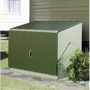 Trimetals Stowaway 4.5 ft. W x 3.7 ft. D Metal Lean-To Storage Shed