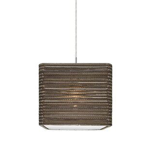 Mortola 1-Light Square/Rectangle Pendant by 17 Stories