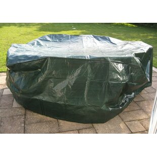 Large 6-8 Seater Oval Patio Dining Set Cover By WFX Utility