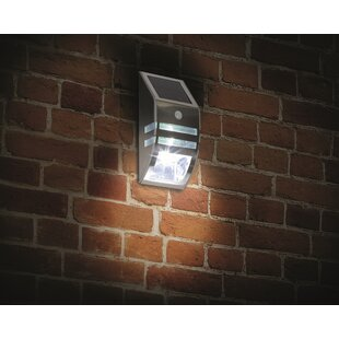 Admiral LED Solar Outdoor Wall Lantern With Motion Sensor By Sol 72 Outdoor