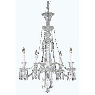 Leonardo 5-Light Candle Style Chandelier by Rosdorf Park